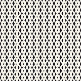 Repeating Rectangle Halftone. Modern Geometric Lattice Texture. Vector Seamless Monochrome Pattern