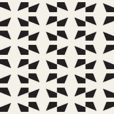 Vector seamless lattice pattern. Modern stylish texture. Repeating geometric star shape tiles