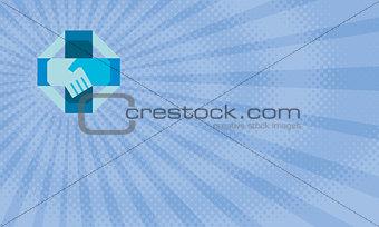 Blue Octagon Pharmacy Business card