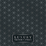 Luxury seamless ornate pattern - grid gradient texture. Dark vintage background.