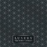 Luxury seamless ornate pattern - grid gradient texture. Dark vintage background.