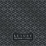 Luxury seamless geometric pattern - grid gradient texture.