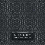 Luxury seamless geometric pattern - grid gradient texture.