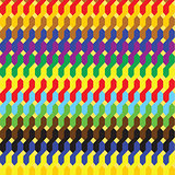 Seamless abstract colored geometric pattern