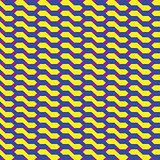 Seamless abstract geometric retro pattern
