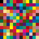 Background of colored squares