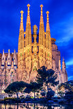 Barcelona, Catalonia, Spain: Basicila and Expiatory Church of the Holy Family, known as Sagrada Familia