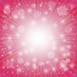 Pink Blurrerd Background
