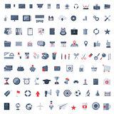 Flat icons set.