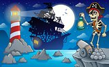 Night pirate scenery 2