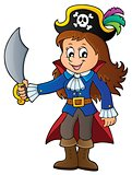 Pirate girl theme image 1