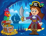Pirate girl theme image 2
