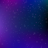Sky night space abstract background with stars. Universe backdrop. Vector illustration.