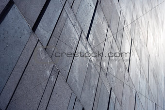 Abstract wall detail