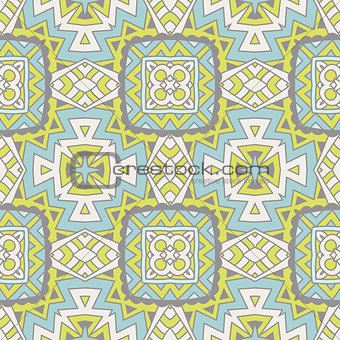 Abstract Tribal vintage lace pattern