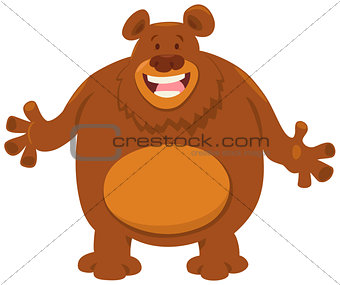 bear cartoon animal