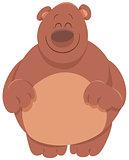 cute bear cartoon animal