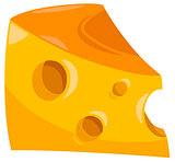 piece of cheese food object