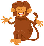 shaggy monkey animal character