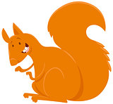 squirrel cartoon animal character