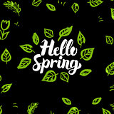 Hello Spring Greenery Design