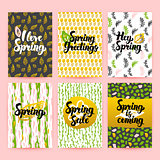 Hello Spring Trendy Brochures