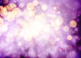 Magenta bokeh background for Christmas design