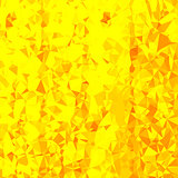 Abstract Yellow Polygonal Background.