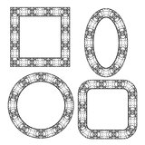 Set of Circle Decorative Frames