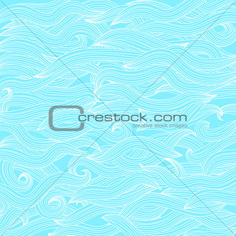 Abstract Wave Pattern.