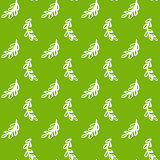 Natural Leaf Green Seamless Pattern