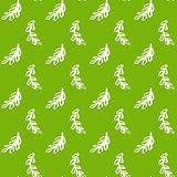 Natural Leaf Green Seamless Pattern