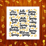 Spring Greeting Calligraphy