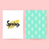 Spring Pastel Retro Poster