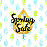 Spring Sale Handwritten Design