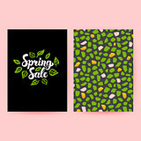 Spring Sale Trendy Poster