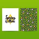 Spring is Here Hipster Poster
