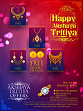 Akshaya Tritiya celebration Sale promotion