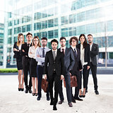 Business team corporate