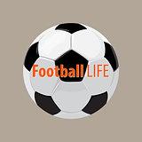 football ball background