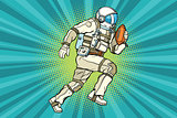 Astronaut athlete American football