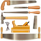 Vector Carpentry Tools