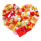 Vector Gifts Heart