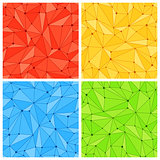 Geometric Mesh Seamless Patterns