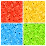 Geometric Mesh Seamless Patterns