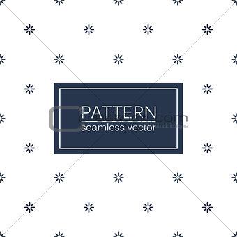 Circles seamless minimalistic pattern.