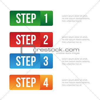 One Two Three Four step