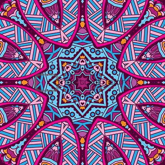 abstract geomtric colorful pattern