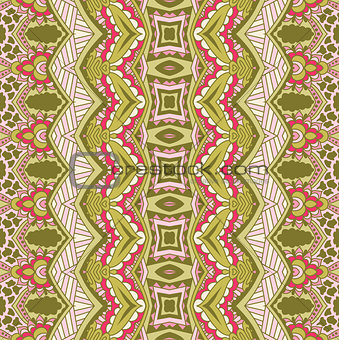 Abstract vector ethnic tribal pattern