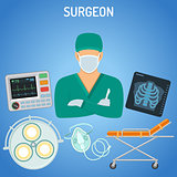 doctor surgeon concept